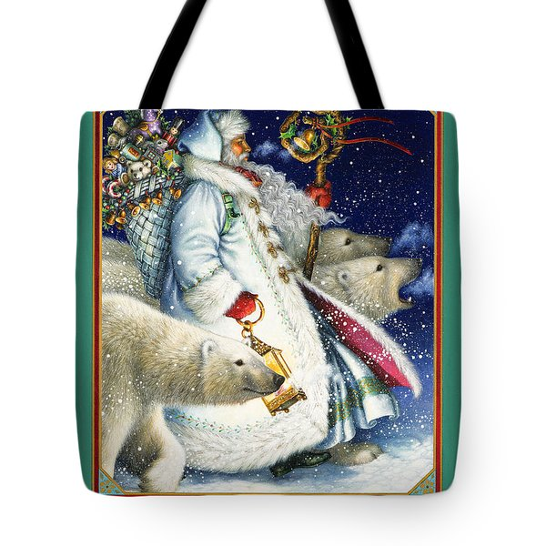 Polar Magic Tote Bag by Lynn Bywaters