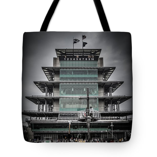Pole Day At The Indy 500 Tote Bag
