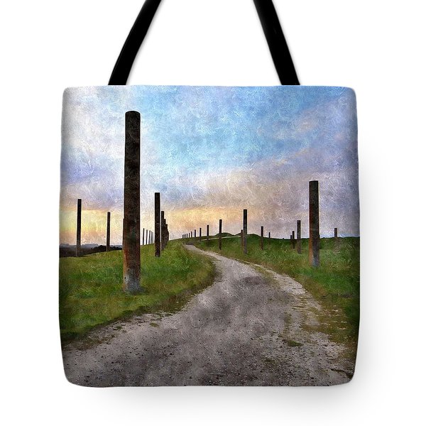 Pole Field Tote Bag
