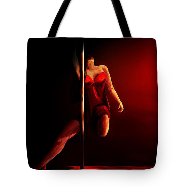 Pole Tote Bag
