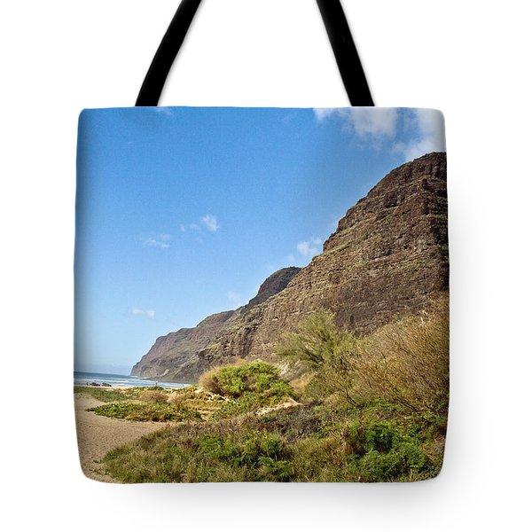 Polihale Beach Tote Bag by Scott Pellegrin