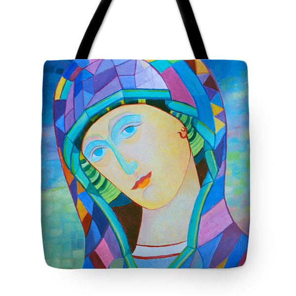 Our Lady Of Victory. Santa Madonna Holy Mary Icon Tote Bag