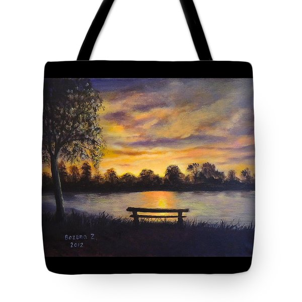 Polish Sunset Tote Bag