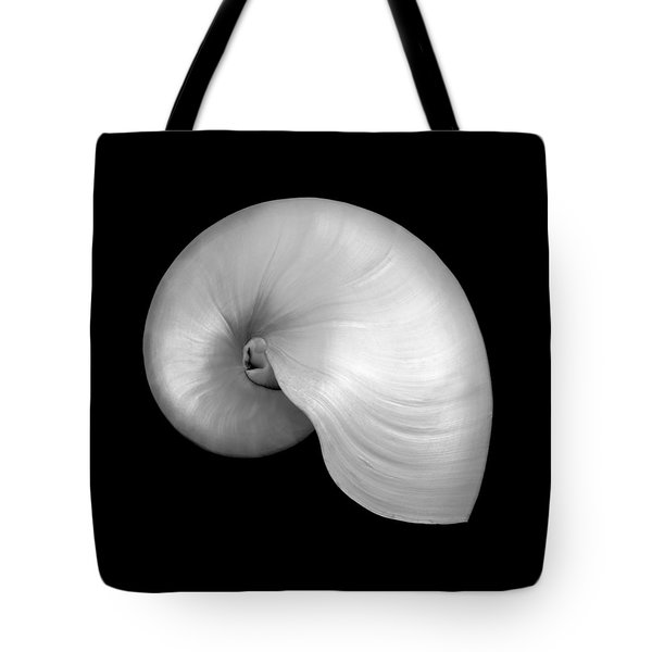 Polished Nautilus Shell Tote Bag
