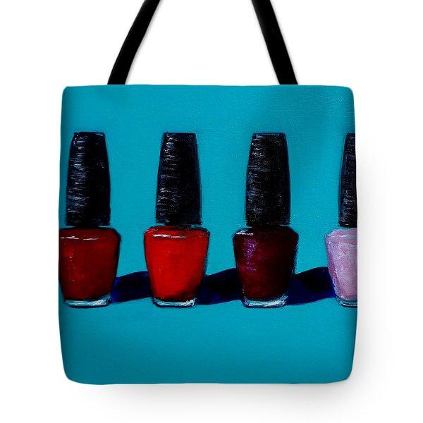 Polished Opi Nail Polish Tote Bag