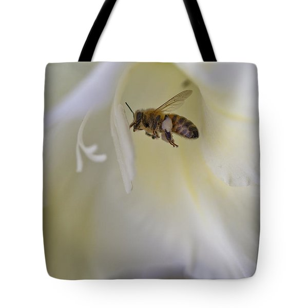 Pollen Carrier Bee Tote Bag