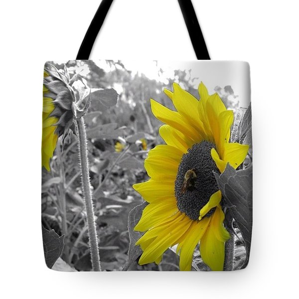 Tote Bag featuring the photograph Pollen Power by Nikki McInnes