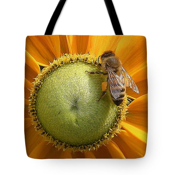 Pollen Time Tote Bag by Brian Chase