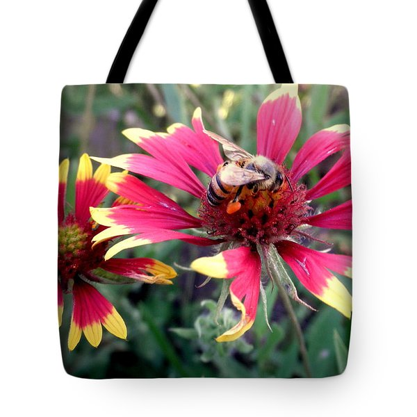 Pollination #1 Tote Bag by Camille Reichardt