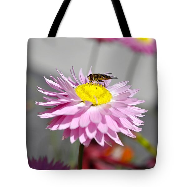 Tote Bag featuring the photograph Pollination by Cathy Mahnke