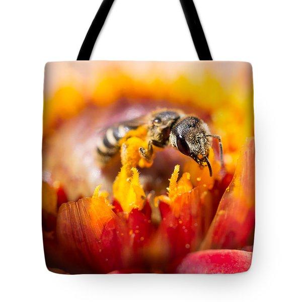 Pollination Tote Bag by Priya Ghose