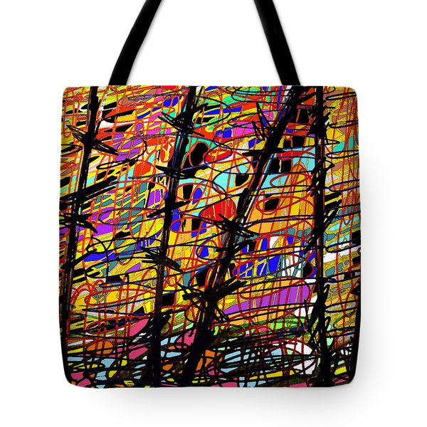Pollock Updated Tote Bag