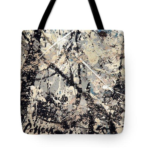 Pollock's Name On Lavendar Mist Tote Bag