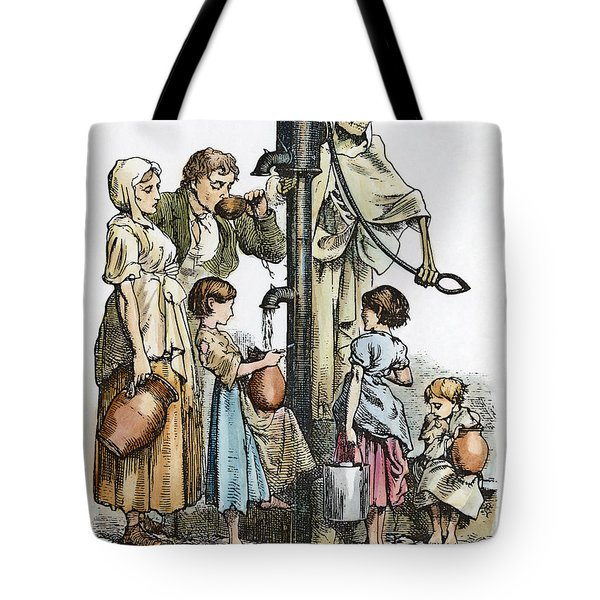 Pollution Cartoon, 1866 Tote Bag by Granger