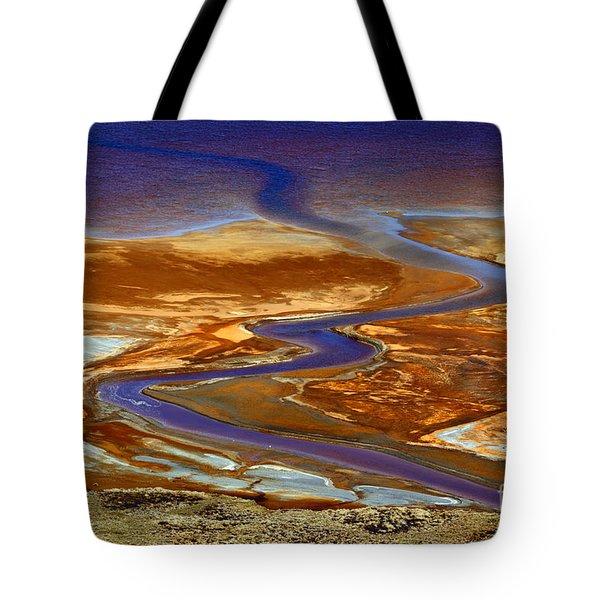 Pollution Tote Bag by James Brunker