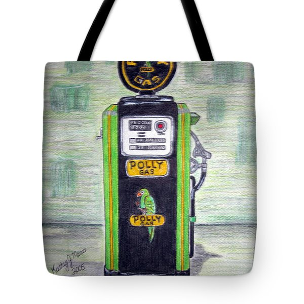 Polly Gas Pump Tote Bag
