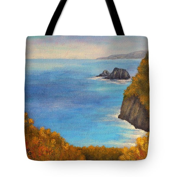 Pololu Valley Lookout Tote Bag by Pamela Allegretto