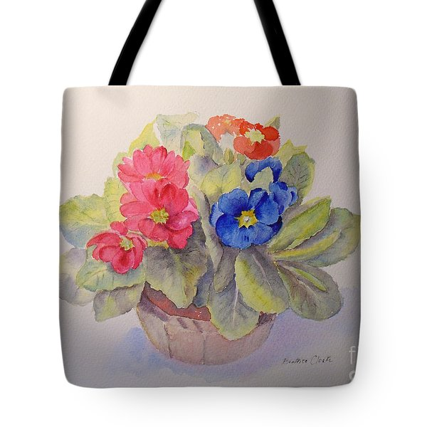 Polyanthus Tote Bag by Beatrice Cloake