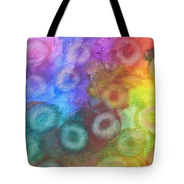Polychromatic Rbc's Tote Bag