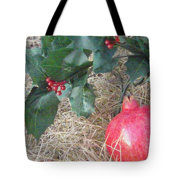 Pomegranate Love Forever Tote Bag by Feile Case
