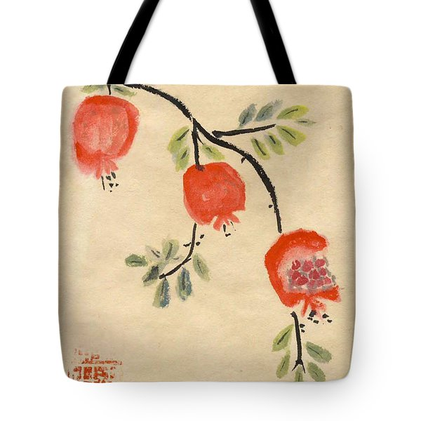 Pomegranates For Rosh Hashanah Tote Bag