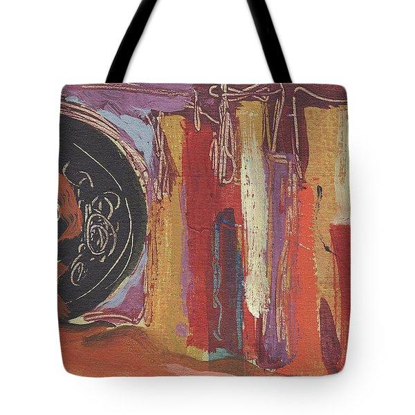 Pompeii Postcard Tote Bag