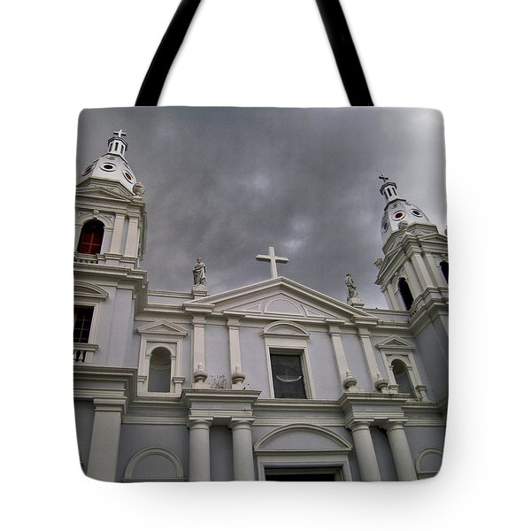Ponce Cathedral Tote Bag