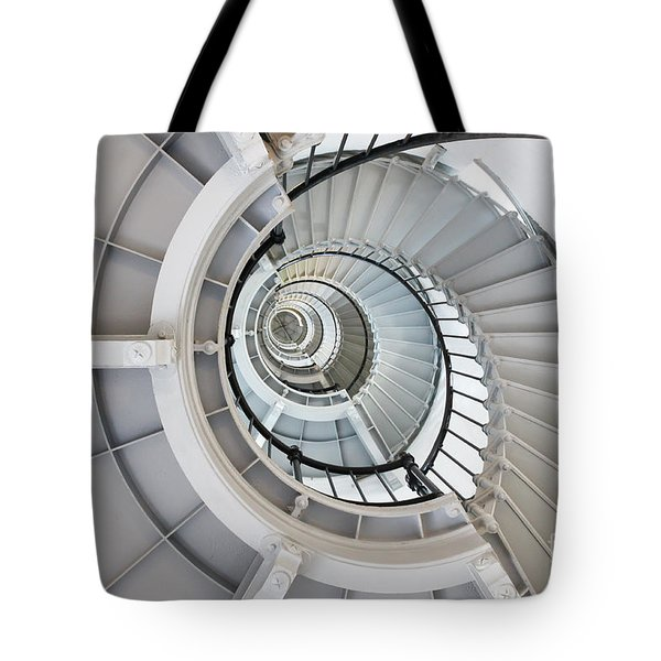Ponce De Leon Inlet Lighthouse Staircase Tote Bag