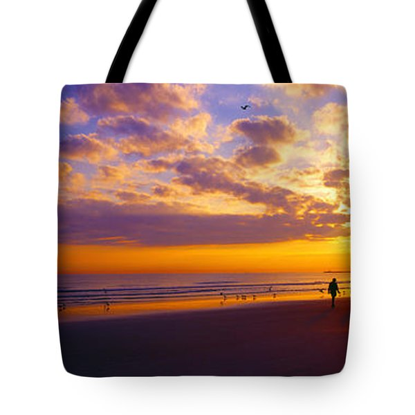 Ponce Inlet Fl Sunrise  Tote Bag