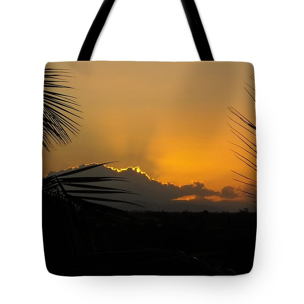 Ponce Sunrise Tote Bag by Daniel Sheldon