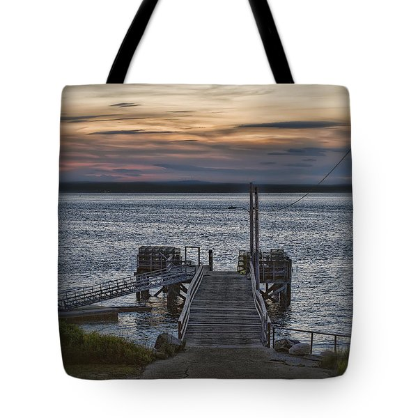 Tote Bag featuring the photograph Ponce Landing by Richard Bean