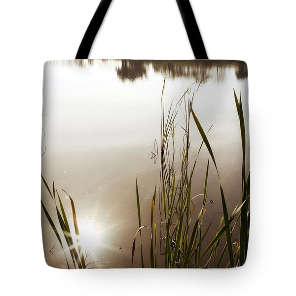 Pond Tote Bag by Les Cunliffe