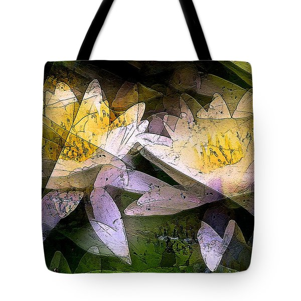 Pond Lily 24 Tote Bag by Pamela Cooper
