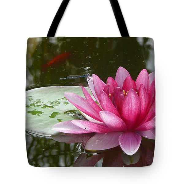 Pond Magic Tote Bag by Evelyn Tambour