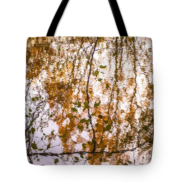 Pond Reflections #3 Tote Bag