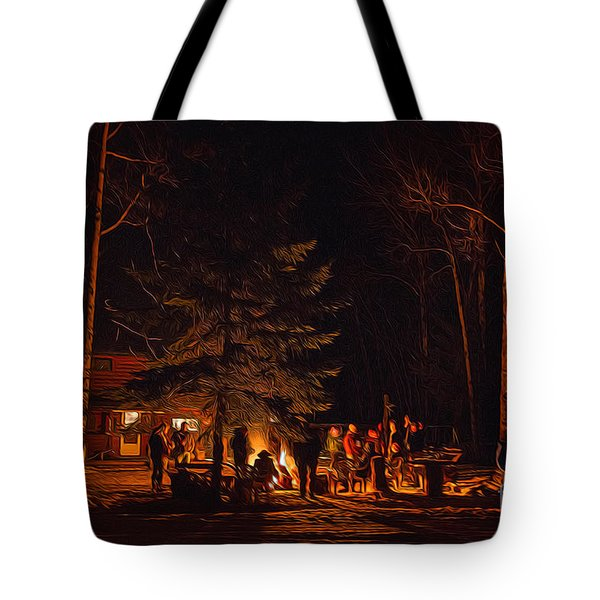 Ponderosa Christmas '14 Tote Bag
