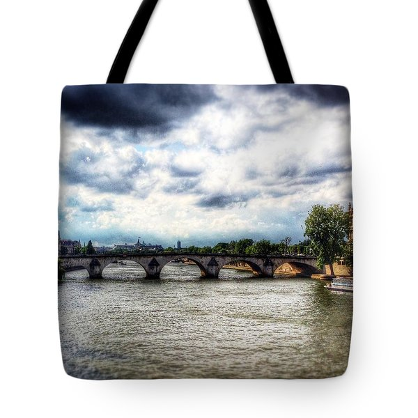 Pont Des Arts Tote Bag