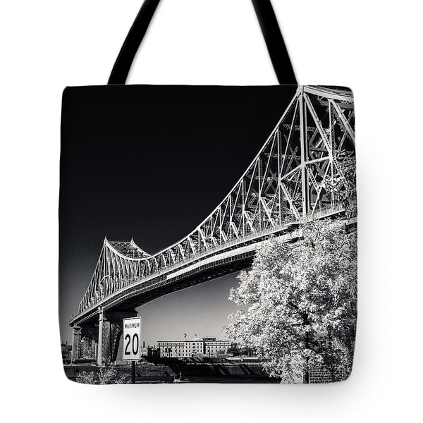 Pont Jacques Cartier Tote Bag