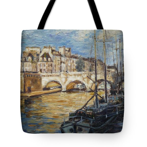Pont Neuf Paris Tote Bag