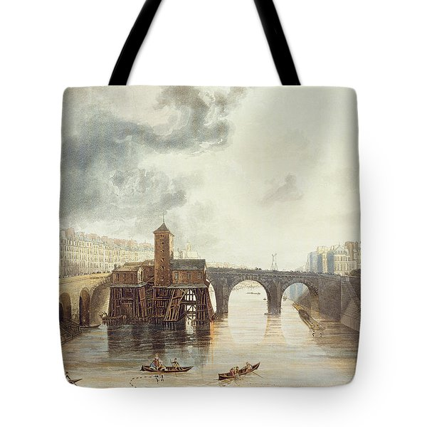 Pont Notre Dame, From Views Tote Bag