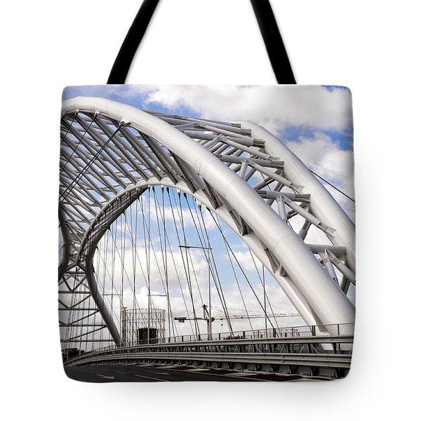 Ponte Settimia Spizzichino Tote Bag by Fabrizio Troiani
