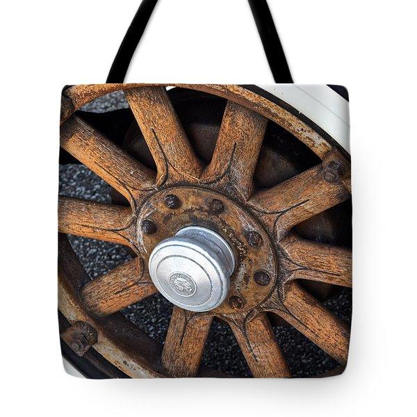 Pontiac Custom Sedan Tote Bag by Frozen in Time Fine Art Photography