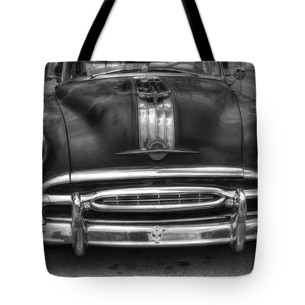 Tote Bag featuring the photograph Pontiac Frontend by Michael Colgate
