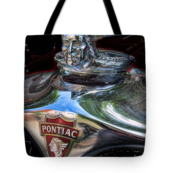 Pontiac Hood Ornament Tote Bag
