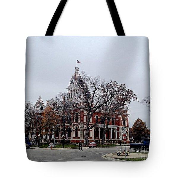 Pontiac Tote Bag by Joseph Yarbrough