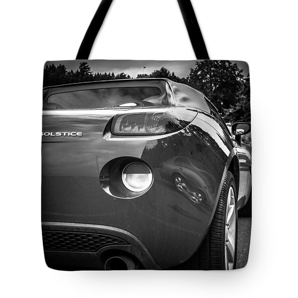 Pontiac Solstice Rear View Tote Bag