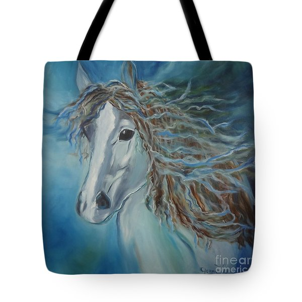 Pony Tote Bag by Jenny Lee