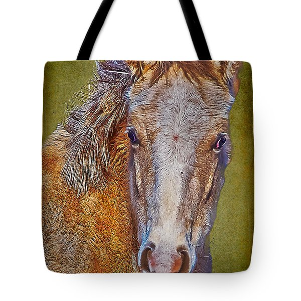 Pony Portrait  Tote Bag