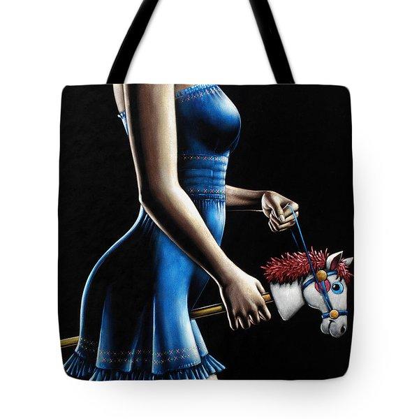 Ponygirl Tote Bag