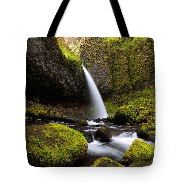 Ponytail Falls Tote Bag